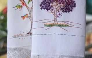 Τι πανέμορφες κεντημένες πετσέτες από παλιά ....... 2
