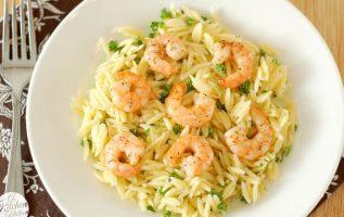 Νηστίσιμη συνταγή: Κριθαρότο με γαρίδες και λεμόνι... 2