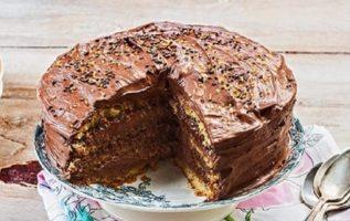 Τέλεια τούρτα πραλίνα έτοιμη σε 5 λεπτά!... 1