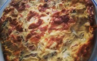 Ομελέτα φούρνου με λαχανικά και κασέρι χαμηλών λιπαρών...... 3