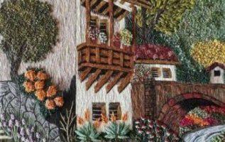 Τι όμορφος κεντημένος πίνακας σαν ζωγραφιά ...... 3