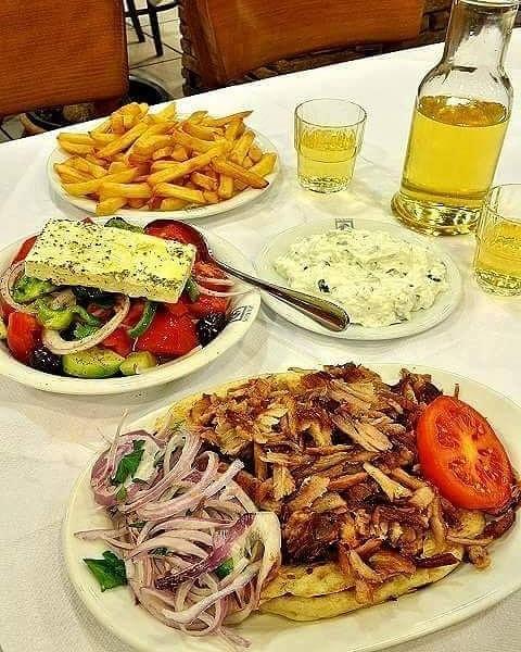 Mmm!!! Greek food is the best !!... 1