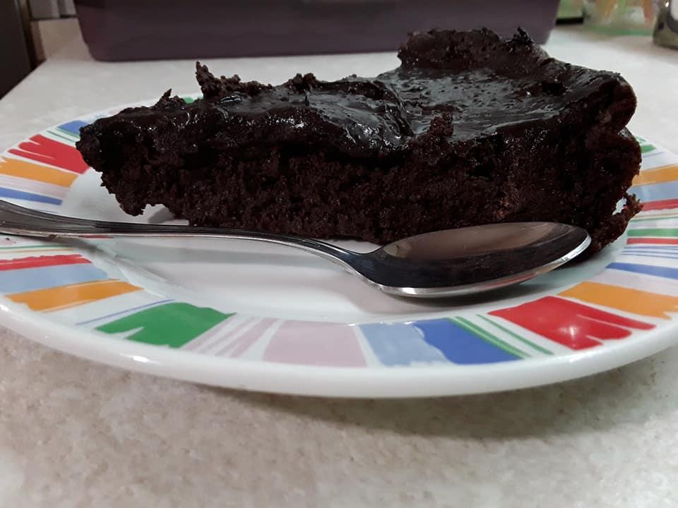 Σοκολατόπιτα διαίτης... 2