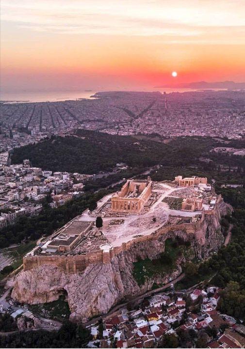 Athens Sunset... 1