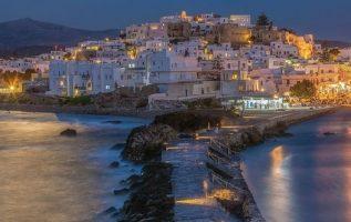 Beautiful moonlight on Naxos island #Greece !!.... 4