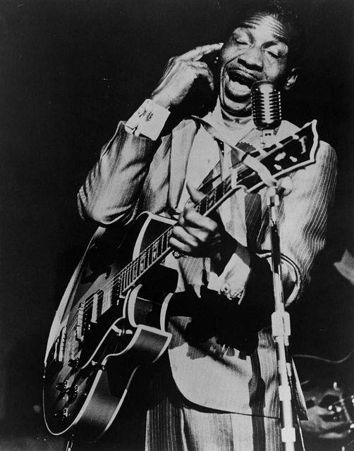 """Blues Legend Aaron Thibeaux """"T-Bone"""" Walker (May 28, 1910 - March 16, 1975).... 1"""