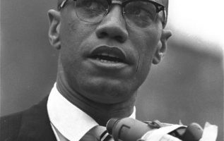Civil rights activist Malcolm X (May 19, 1925 - February 21, 1965).... 5