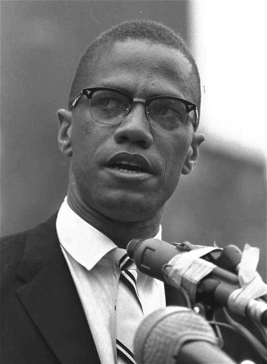 Civil rights activist Malcolm X (May 19, 1925 - February 21, 1965).... 1