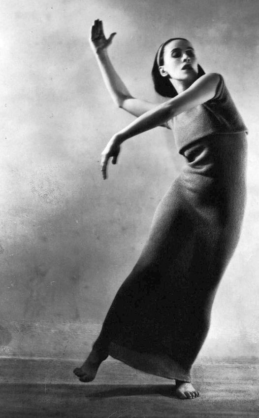 Dancer and Choreographer Martha Graham (May 11, 1894 - April 1, 1991).... 1