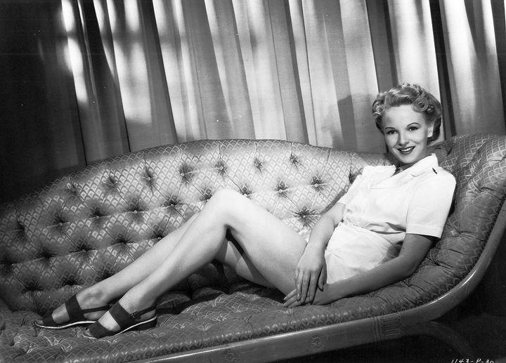 English Actress Anna Lee (January 2, 1913 - May 14, 2004).... 1