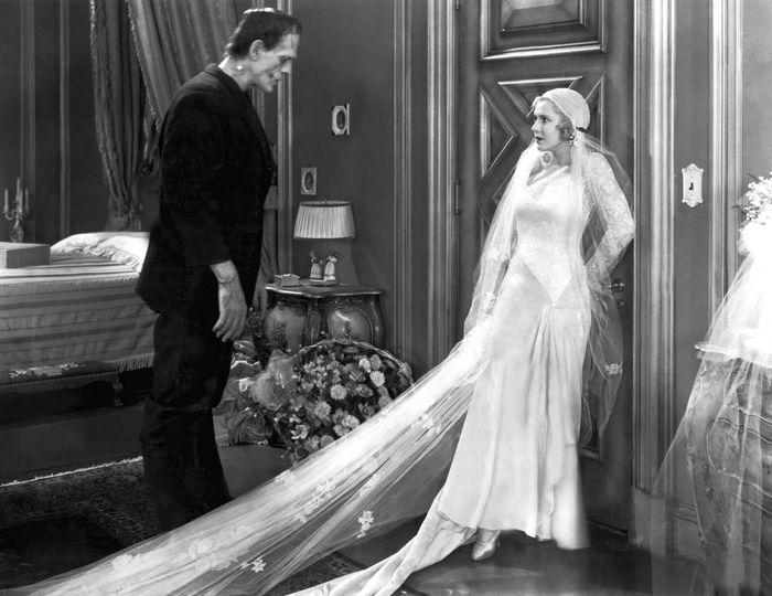 Frankenstein (1931). Boris Karloff and Mae Clarke.... 1