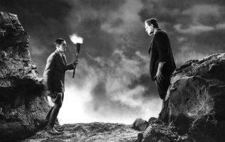 Frankenstein (1931). Colin Clive and Boris Karloff.... 2