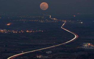 Full moon in #Greece !!.... 4
