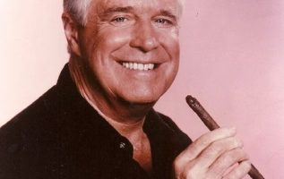 """George Peppard (October 1, 1928 - May 8, 1994) as John """"Hannibal"""" Smith on The A... 2"""