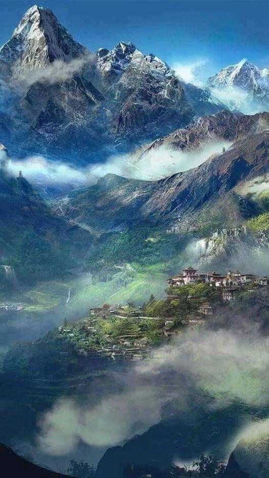 Himalaya, Nepal... 1