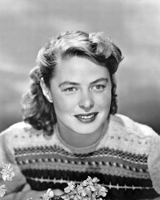 Ingrid Bergman.... 1