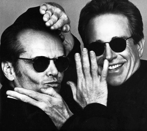 Jack Nicholson and Warren Beatty photographed by Herb Ritts.... 1