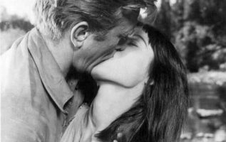 Kirk Douglas and Elsa Martinelli in The Indian Fighter (1956).... 4