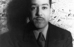 Langston Hughes (February 1, 1902 - May 22, 1967) photographed by Carl Van Vecht... 2