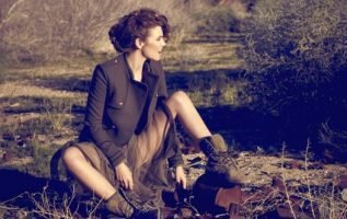 Lauren Cohan photographed by Brian Bowen Smith.... 2