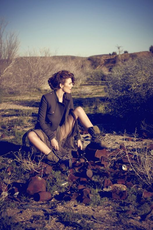 Lauren Cohan photographed by Brian Bowen Smith.... 1