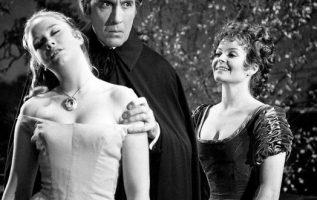 Linda Hayden, Christopher Lee and Isla Blair in Taste the Blood of Dracula (1970... 4