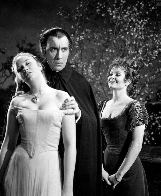 Linda Hayden, Christopher Lee and Isla Blair in Taste the Blood of Dracula (1970... 1