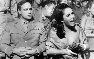 Marlon Brando and Elizabeth Taylor. Reflections in a Golden Eye (1967).... 2