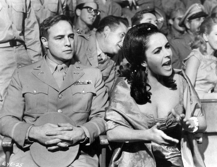 Marlon Brando and Elizabeth Taylor. Reflections in a Golden Eye (1967).... 1