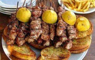 Mmmm....Greek Souvlaki !!. @zoe_astroulakis... 6