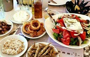 Mmmm....Greek food is the best !!... 7