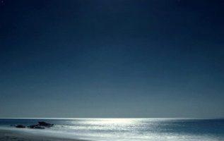 Moonlight....Crete island Triopetra Greece !!... 2
