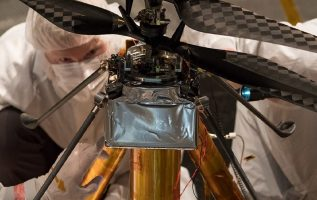 NASA's Mars helicopter is ready for the 2020 mission. 3