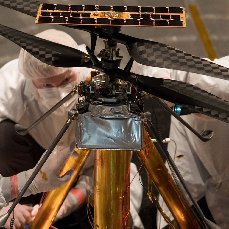 NASA's Mars helicopter is ready for the 2020 mission. 1