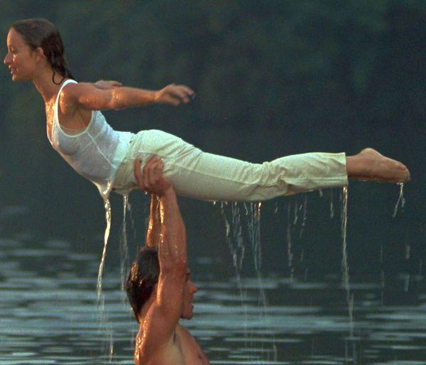 Patrick Swayze and Jennifer Grey. Dirty Dancing (1987).... 1