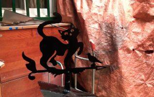 Plasma cut 50 Φινίρισμα καμινάδας τζακιού / fire place decor