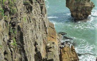Punakaiki Pancake rocks-New Zealand.... 3