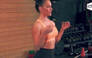 QuickFit επ. 7: Τέσσερις ασκήσεις που μπορείς να κάνεις στο σπίτι, χωρίς όργανα!
