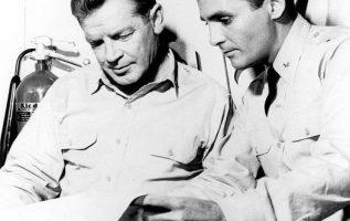Richard Basehart (August 31, 1914 - September 17, 1984) and David Hedison (May 2... 5