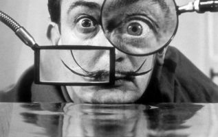 Salvador Dalí (May 11, 1904 - January 23, 1989) photographed by Willy Rizzo.... 4