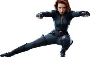Scarlett Johansson. The Black Widow.... 5