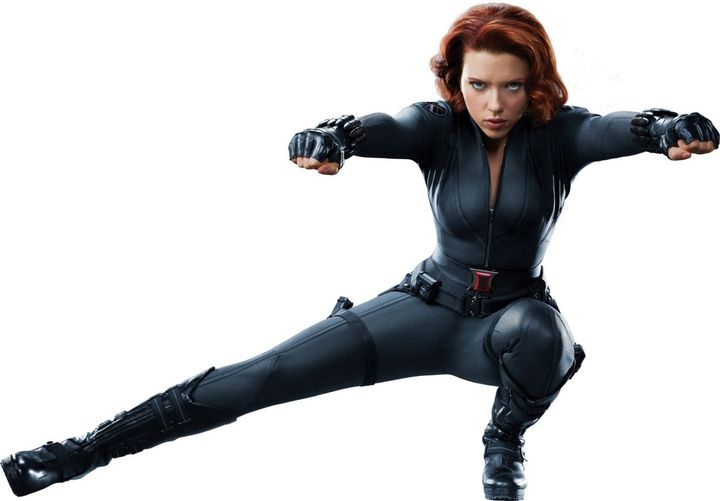 Scarlett Johansson. The Black Widow.... 1