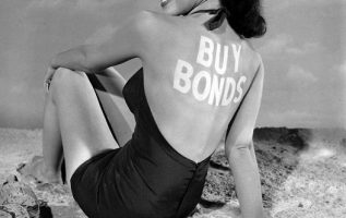 Susan Cabot photographed by Ed Clark. Encouraging you to support the war effort.... 2