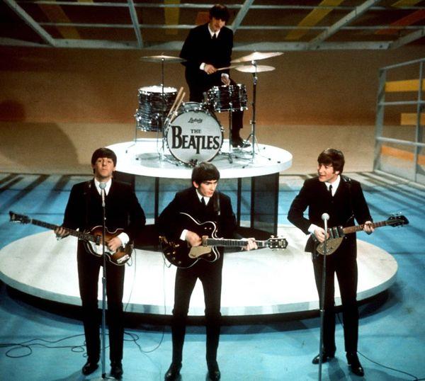The Beatles on The Ed Sullivan Show.... 1