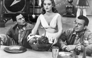 The Mole People (1956). John Agar (January 31, 1921 - April 7, 2002), Cynthia Pa... 4