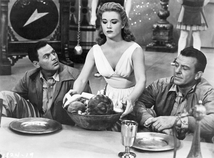 The Mole People (1956). John Agar (January 31, 1921 - April 7, 2002), Cynthia Pa... 1