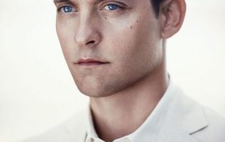 Tobey Maguire photographed by Matthew Brookes.... 4