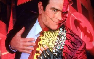 Tommy Lee Jones as Two-Face in Batman Forever (1995).... 2