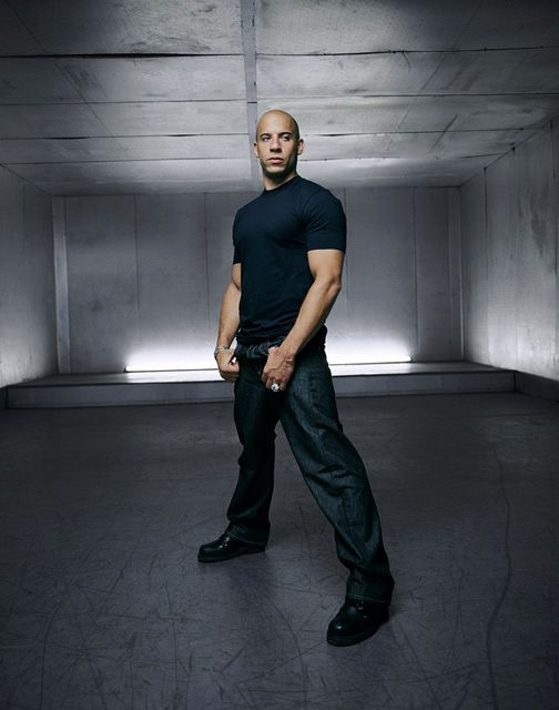 Vin Diesel photographed by Blake Little.... 1