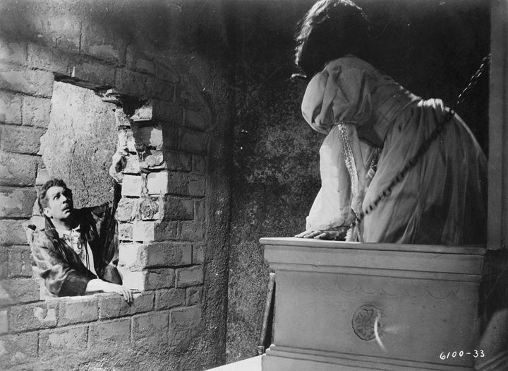 Vincent Price and Barbara Steele in The Pit and The Pendulum (1961).... 1